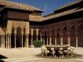 Alhambra - Levie nádvorie, Foto: MCAD Library