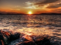 Západ slnka - Balaton, Foto: Janos Congor Kerek