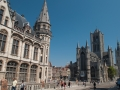 Kostol svätého Nicholasa a Zvonica Belfort - Gent, Foto: Wikimedia