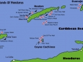 Ostrovy Bay - mapa
