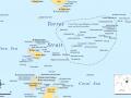 Ostrovy Torres strait - mapa