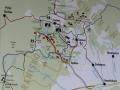 Lačnovská tiesňava - mapa