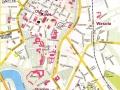 Krakov - mapa