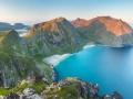 Kvalvika - Lofotské ostrovy
