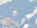 Mapa - Murano a Burano