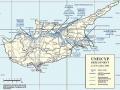 Nikózia - mapa