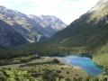 Národný park Nelson lakes - Modré jazero