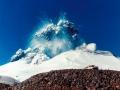 Aktívny vulkán Ruapehu