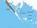 Joal-Fadiouth - mapa