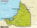 San Francisco de Campeche - mapa