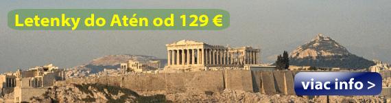 Atény - Letenky