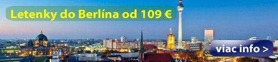 Berlín - Letenky
