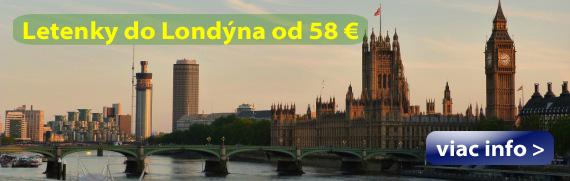 Londýn - Letenky