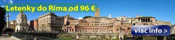 Rím - Letenky