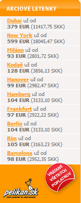 Akciové letenky