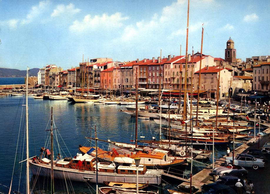 Saint-Tropez-port