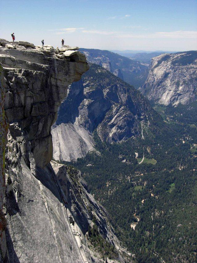 Yosemitské údolie_Half Dome
