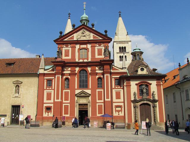 Praha_Bazilika svateho Jiri