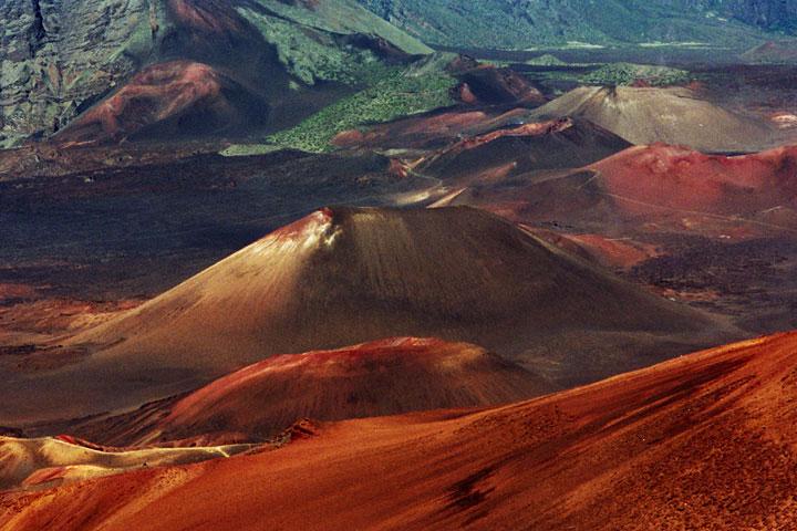 Sopecny krater Haleakala_Maui