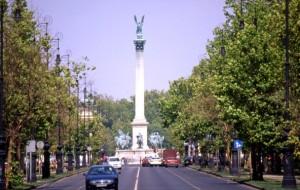 Andrassyho ulica_Namestie hrdinov_Budapest