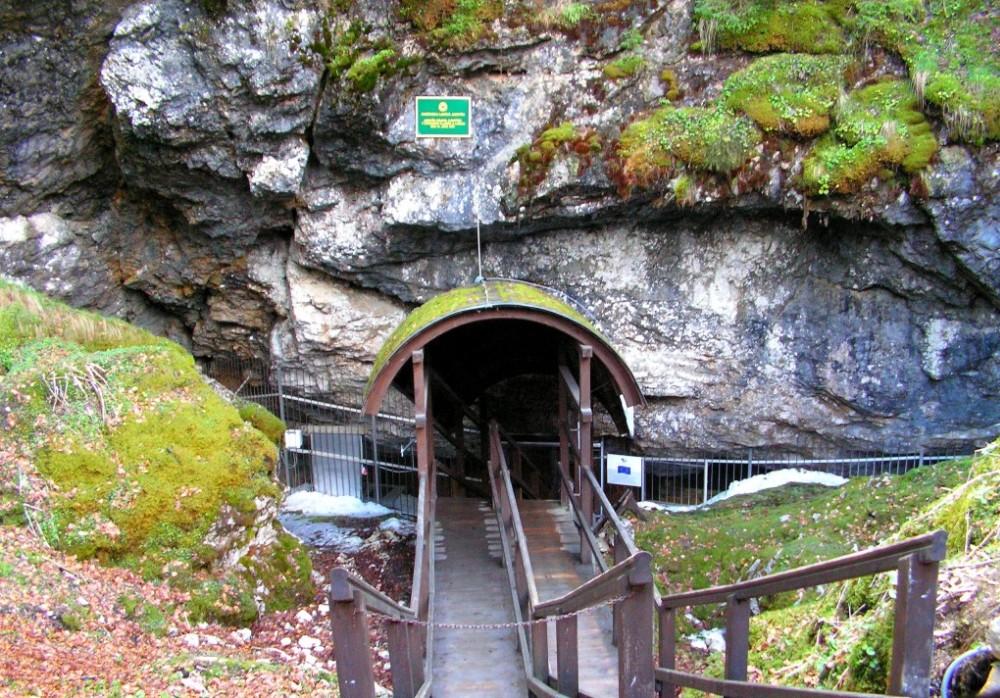 Dobsinska ladova jaskyna_vchod