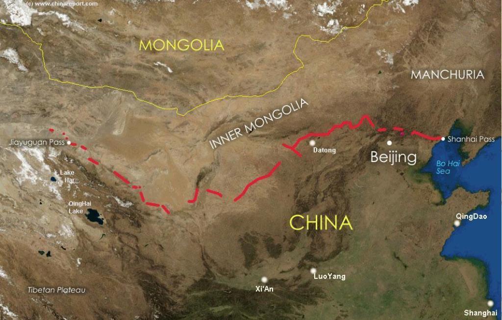 Velky cinsky mur_mapa