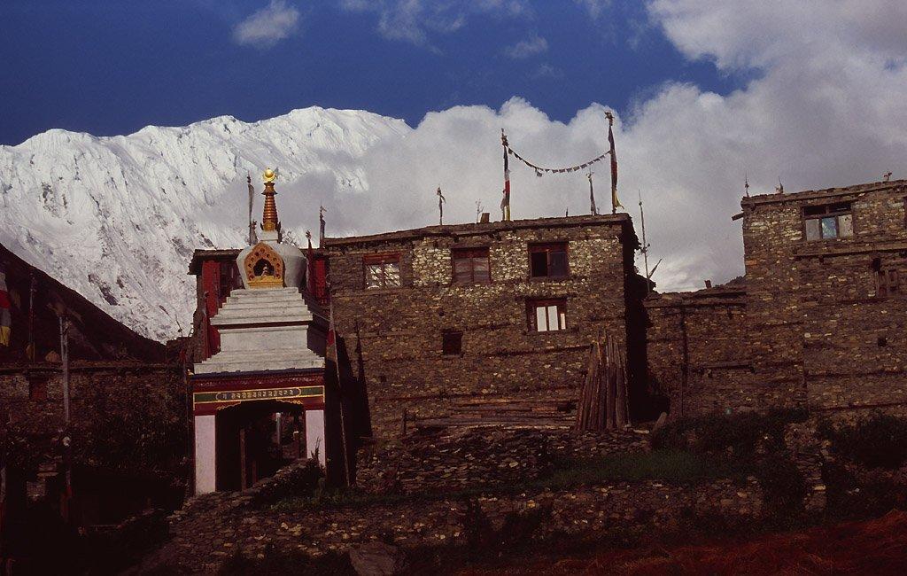 Dedina pod Anapurnou