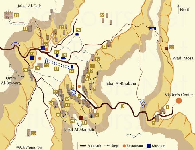 Petra_mapa