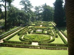 Vatikánske záhrady