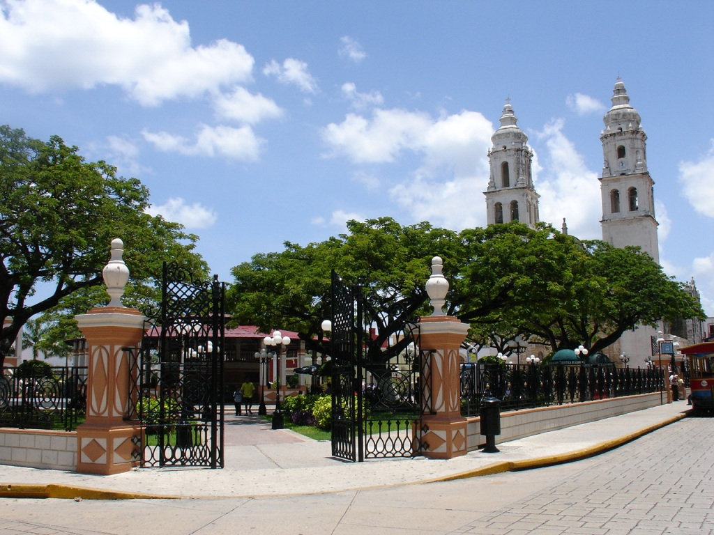 Campeche_Parque Principal