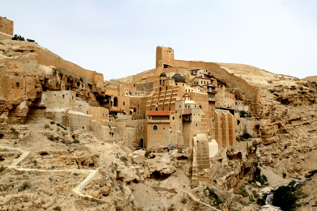 Kláštor Mar Saba, Foto: Flickr