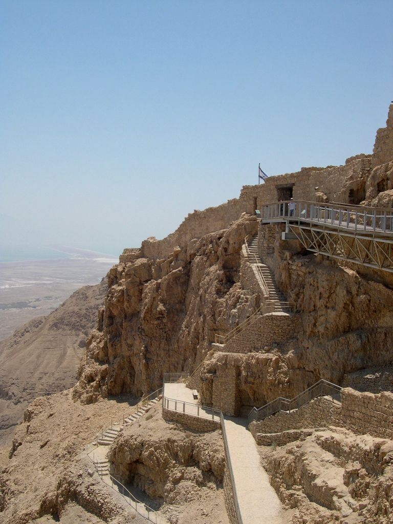 Staroveká pevnosť Masada, Foto: Upyernoz