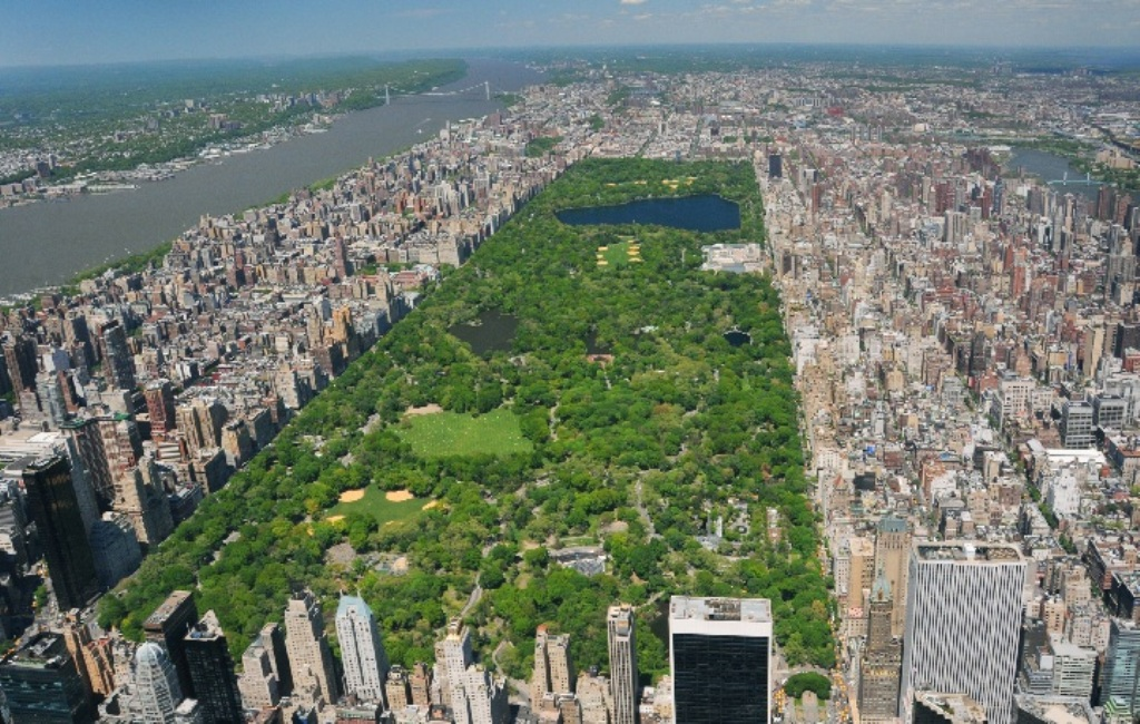 Central Park na Manhattane - New York