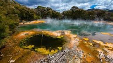 Geotermálna oblasť Rotorua